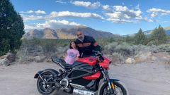 Diego Cardenas e la figlia con la HD LiveWire