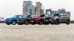 Diesel vs motori elettrificati: comparativa consumi SUV in video