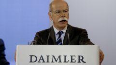 Dieter Zetsche, presidente Daimler: investimenti sui motori diesel