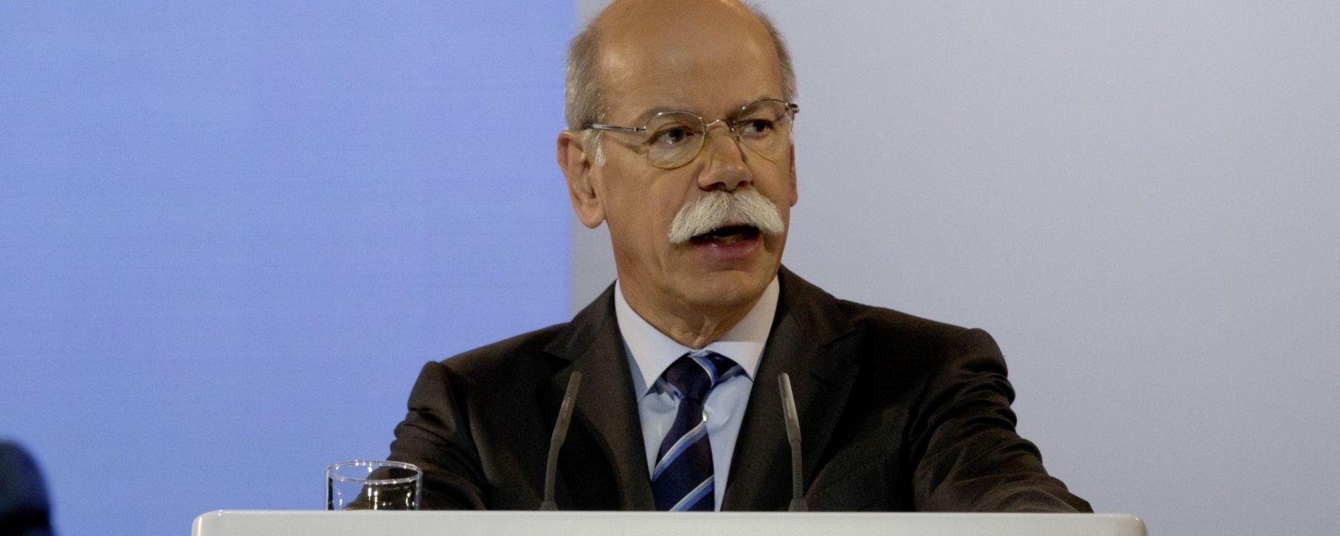 Dieter Zetsche, Ceo e presidente di Daimler AG