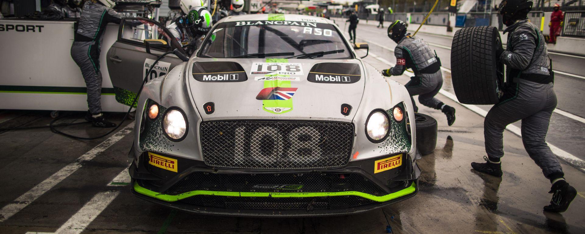 Con Bentley dietro le quinte del Blancpain GT Endurance