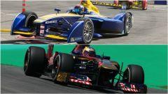 Differenze (estetiche) tra F.E, in alto, e F1