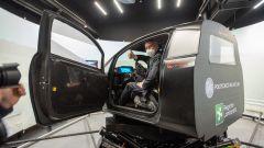 DiM400, il rettore del Politecnico a bordo del simulatore