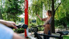 DINAclub, la rete di ricarica per e-bike di Repower: il QR da scansionare per la gamification
