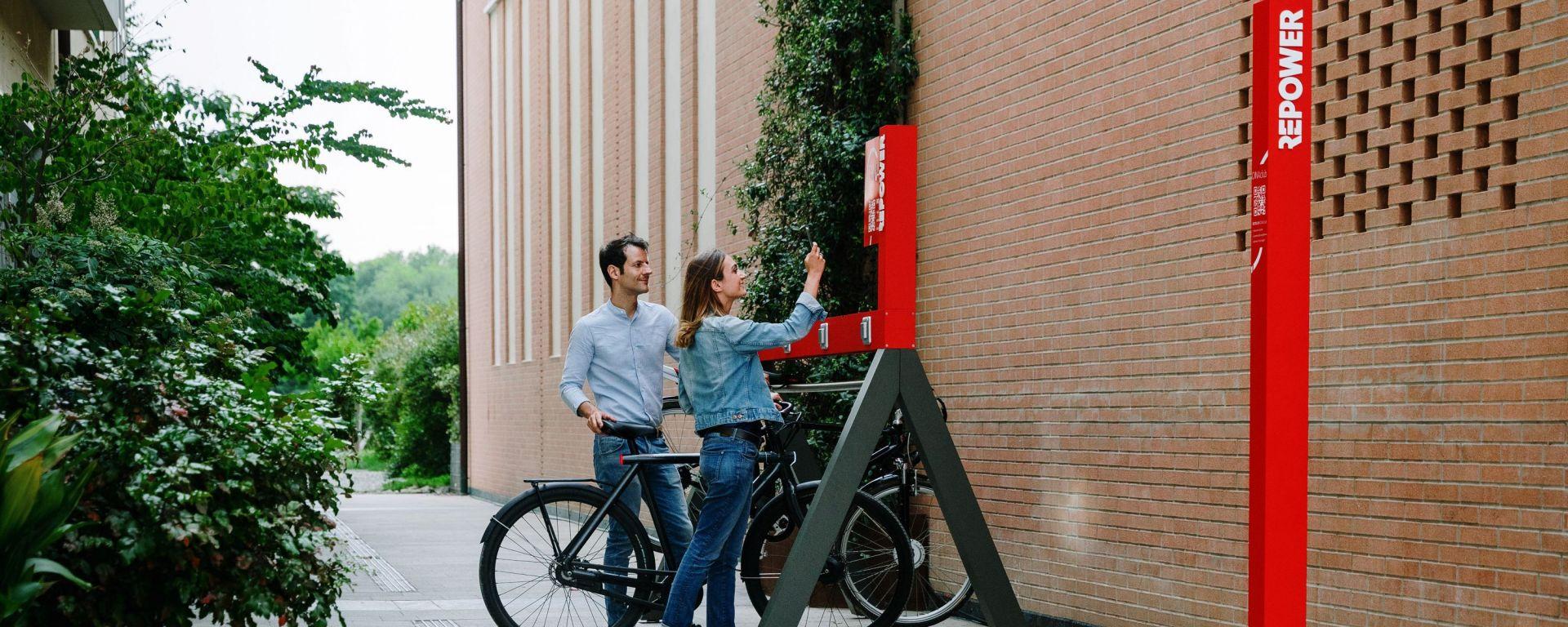 DINAclub, la rete di ricarica per e-bike di Repower