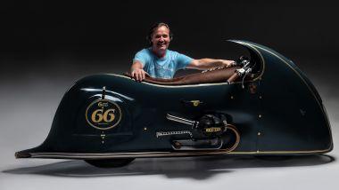 Dirk Oehlerking di Kingston Customs padre della BMW R 100 RS Good Gost