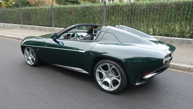 Disco Volante Spyder by Touring Superleggera