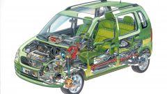 Disegno di Opel Agila
