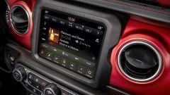 Display per l'infotainment più grandi per Jeep Wrangler 2021
