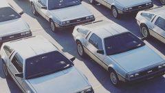 DMC DeLorean, esemplari in mostra
