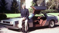 DMC DeLorean, John DeLorean con la sua