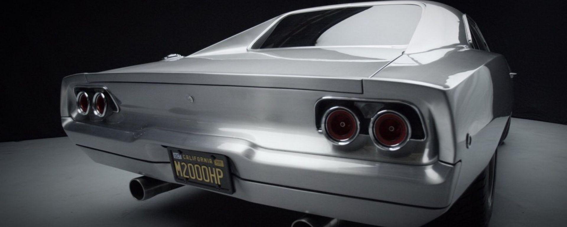 Dodge Charger Maximus: una vista del posteriore