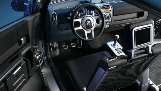 Dodge Hornet 2022: l'abitacolo del concept