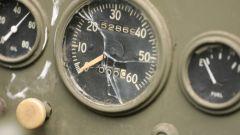 Dodge WC-57 Command Car: dettaglio degli indicatori