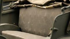 Dodge WC-57 Command Car: il divanetto posteriore