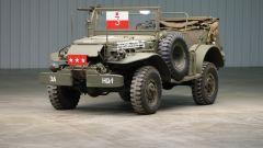 Dodge WC-57 Command Car: l'auto del Generale Patton