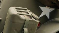 Dodge WC-57 Command Car: tanica di carburante