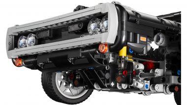Dom's Dodge Charger: particolare del frontale