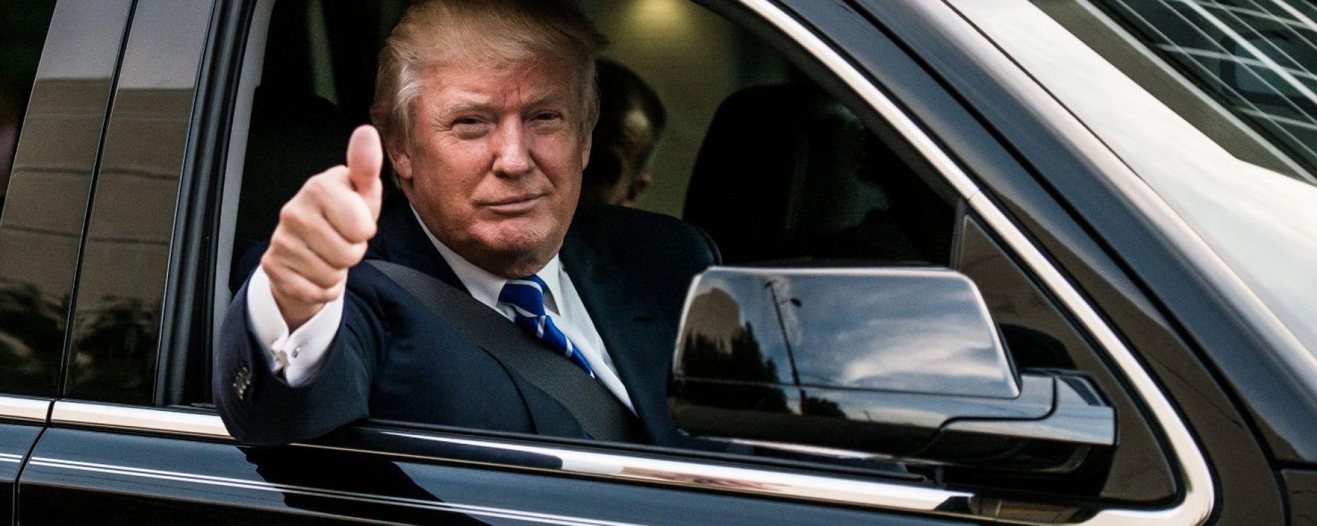 Donald Trump attacca le auto tedesche