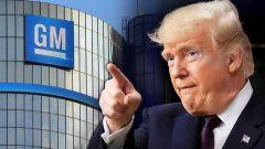 Donald Trump contro General Motors
