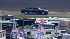 Donald Trump scende in pista a Daytona 500