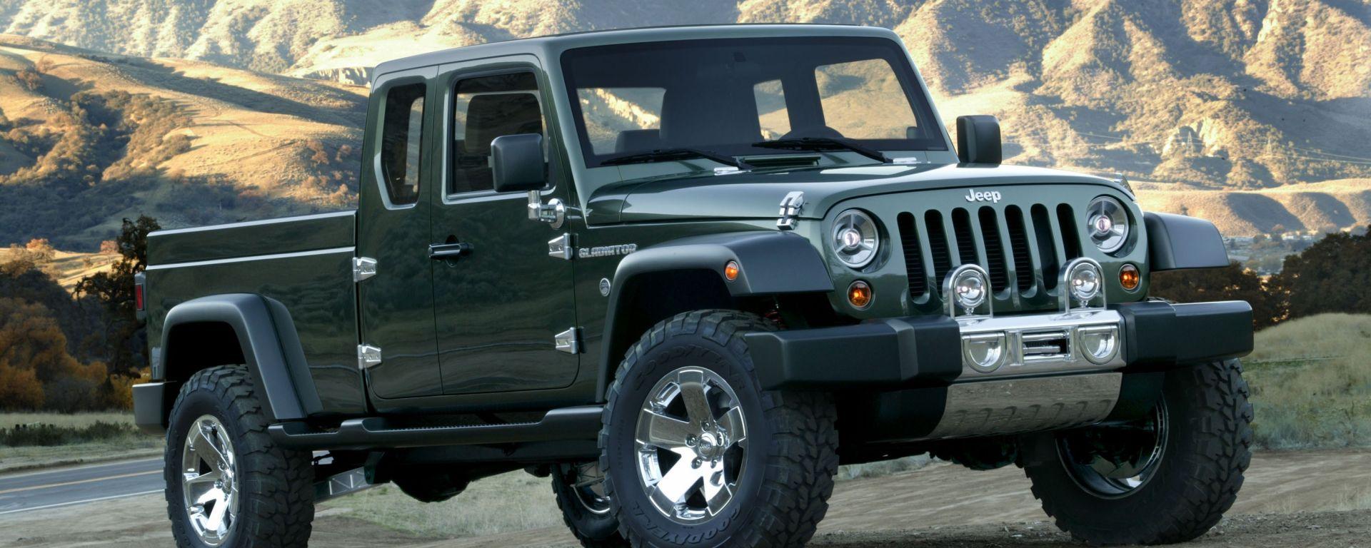 Dopo 20 anni Jeep torna ai pick-up