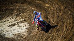 Dovizioso alle prese con il motocross