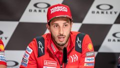 Dovizioso in conferenza stampa