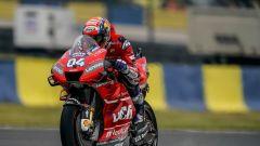 Dovizioso in pista a Le Mans