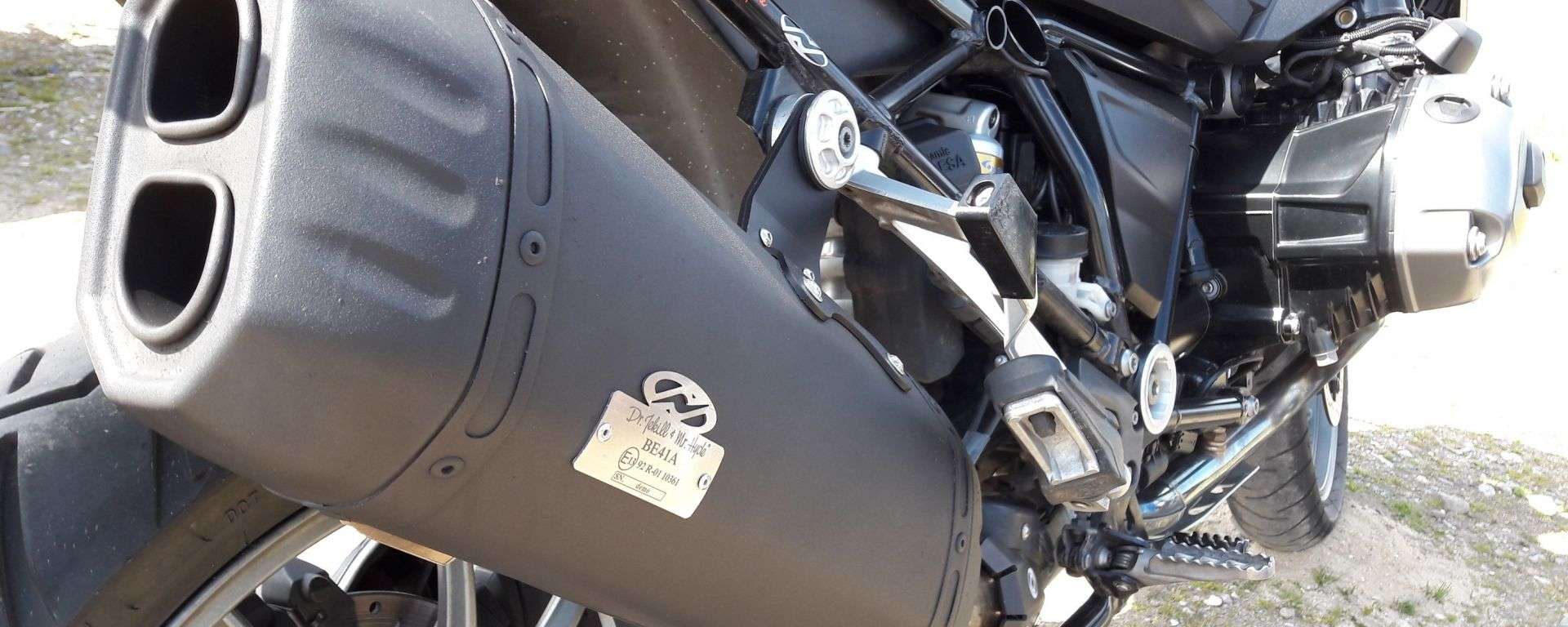 Dr. Jekyll & Mr. Hyde, scarico per BMW R 1200 GS