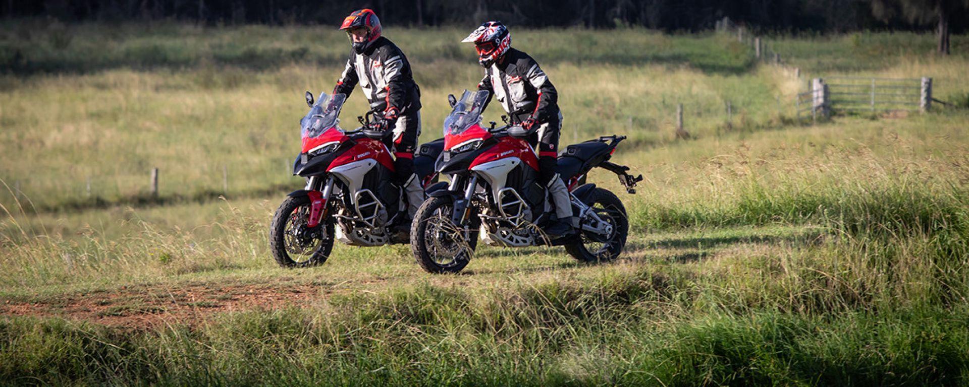 DRE Adventure 2021: il corso di guida fuoristrada Ducati