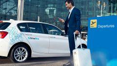 DriveNow: parcheggio riservato all'aeroporto Milano Malpensa