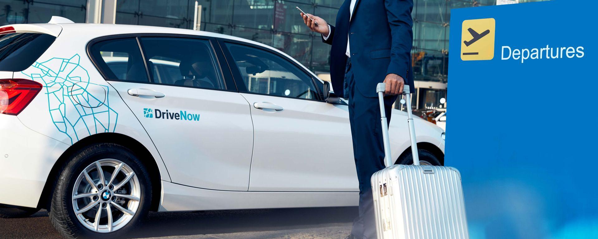 DriveNow: il car sharing di BMW apre un parcheggio riservato all'aeroporto Milano Malpensa