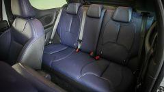 DS 3 Cabrio: c'è posto per 3 persone sul divano posteriore