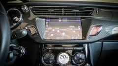 DS 3 Cabrio: veloce al tocco del dito lo schermo capacitivo da 7 pollici