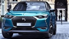 DS 3 Crossback: il frontale