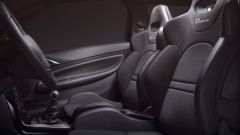 DS 3 Performance: i sedili sono di tipo sportivo e rivestiti in pelle e Alcantara