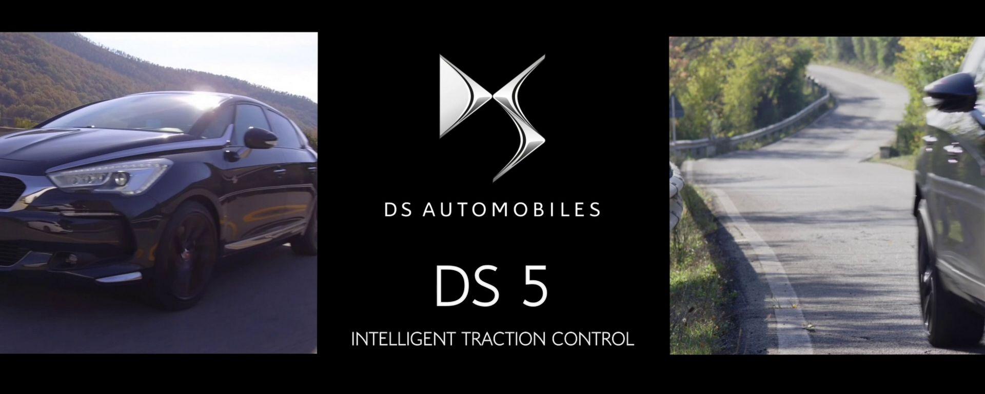 DS 5: un video per raccontare l'Intelligent Traction Control
