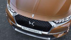 DS 7 Crossback: il frontale Ds Wings ha un maggior sviluppo verticale e una nuova calandra