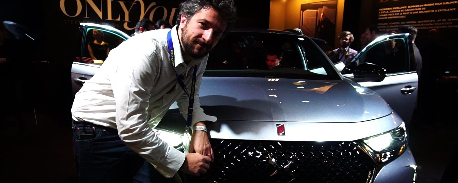 DS 7 Crossback: in video dal Salone di Ginevra 2017