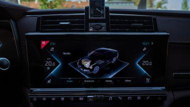 DS 9 E-Tense, il display a centro plancia e la modalità eSave
