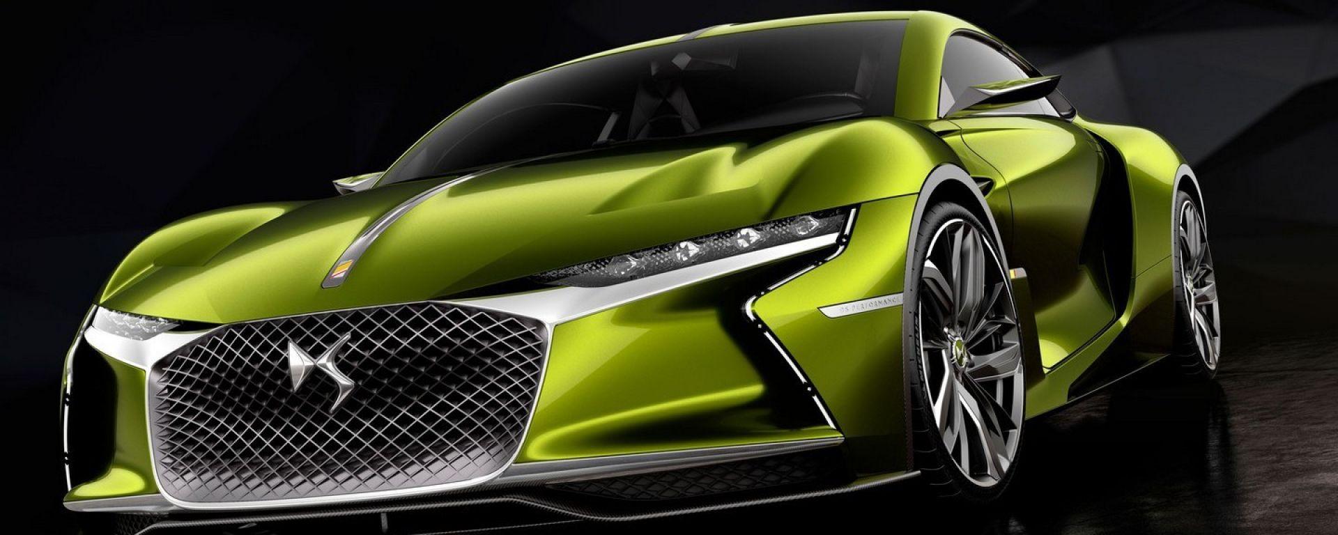 DS E-Tense concept, grand tourer elettrica del futuro