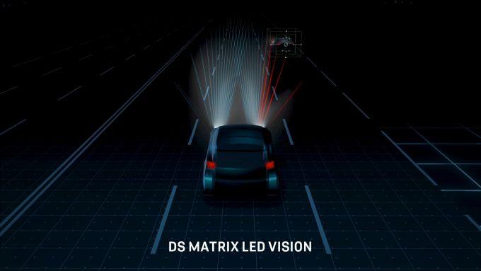 DS Matrix Led Vision: i fari sono intelligenti