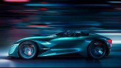 DS X E-Tense, la supercar del 2035. Elettrica e asimmetrica - Immagine: 8