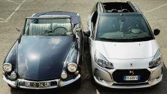 DS21 Cabriolet incontra DS3 Cabrio