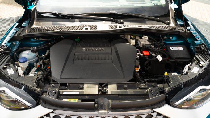 DS3 Crossback E-Tense: il motore