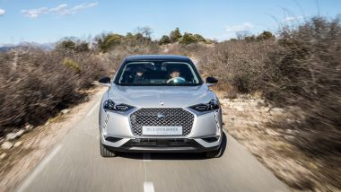 DS3 Crossback: il frontale