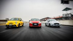 DS3 Performance vs Abarth 595 Competizione vs Ford Fiesta ST200: il video della sfida in pista
