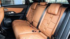 DS7 Crossback E-Tense 4x4: il divanetto posteriore