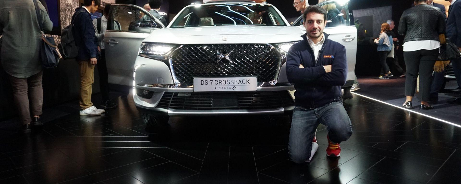DS7 Crossback E-Tense 4x4, in anteprima a Parigi 2018